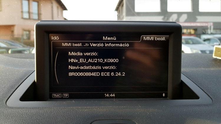 Audi A1 Navigacio Magyar nyelv
