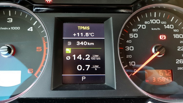 Audi A6 4F modositott kijelzo_3