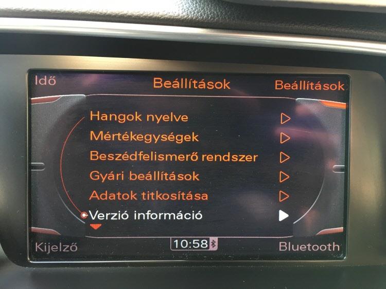 Audi MMI3 Hnav