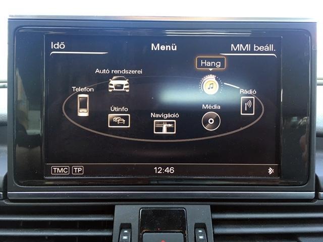Audi MMI3GP Magyar nyelv