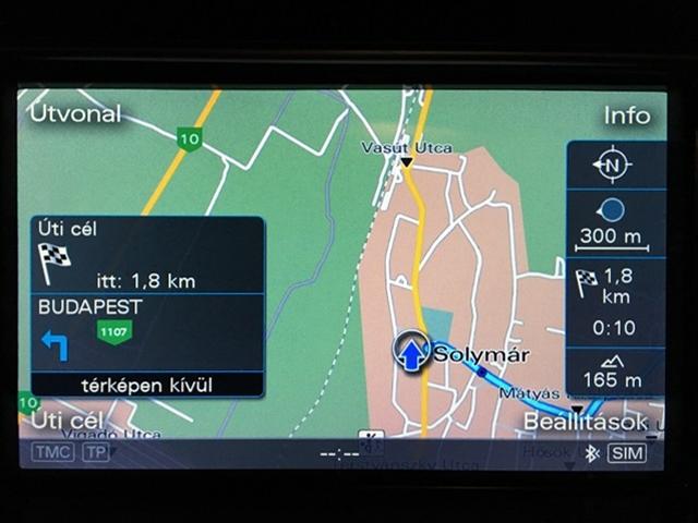 Audi MMI3GP Terkep
