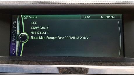 BMW terkep frissites