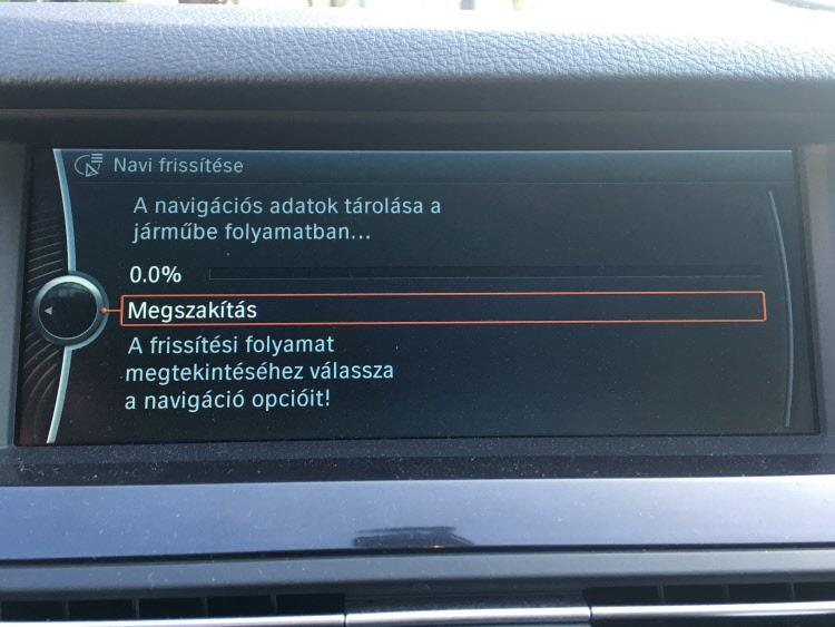 BMW terkep frissites1