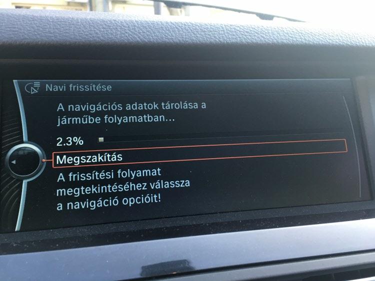 BMW terkep frissites2
