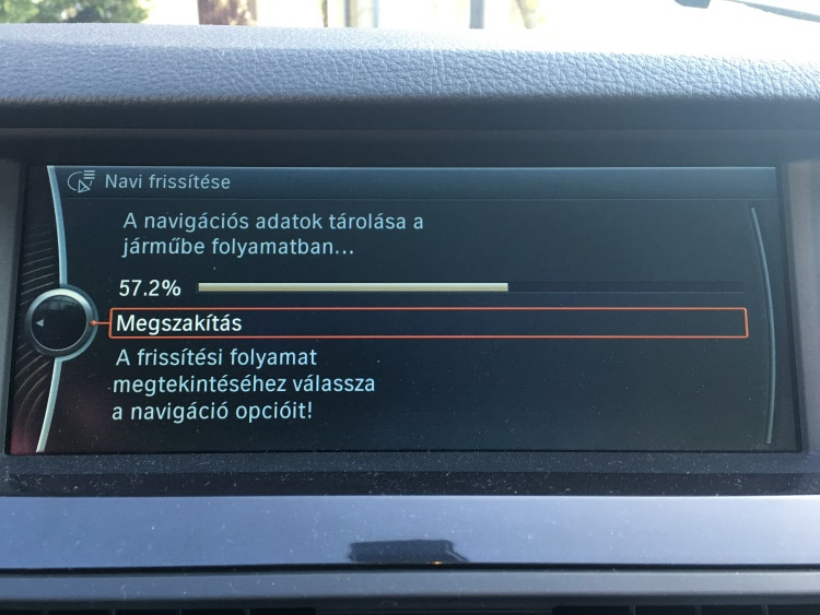 BMW terkep frissites3
