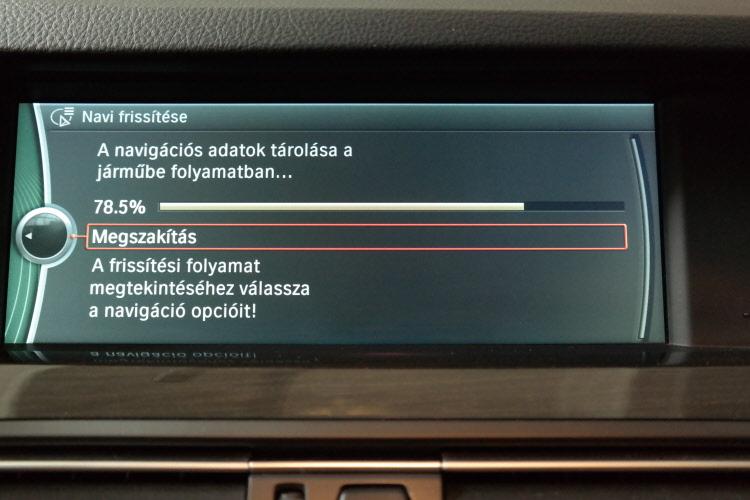 BMW terkep frissites4