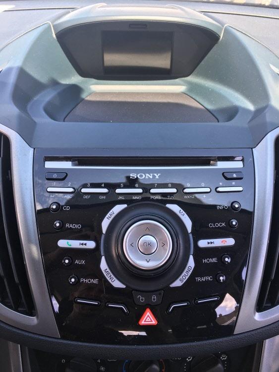Ford MFD Sony