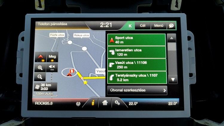 Ford Sync2 Magyar nyelv