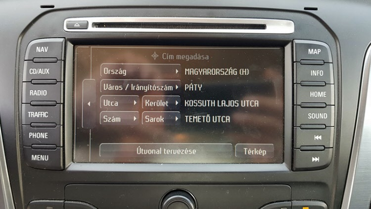 Mondeo NX MCA Uj szoftver frissites