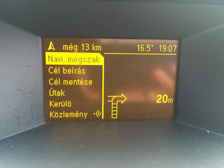 Opel CD 70 Monocrome