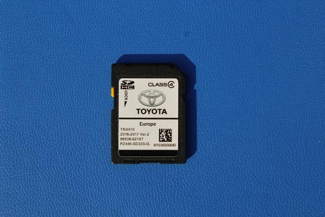 Toyota TNS510 SD kartya